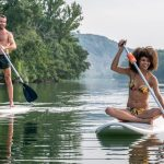 Soleil Vivarais campsite - The river - Stand-up paddle boarding