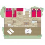 Plan - Cottage 4 places **** - plan 2